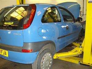 Vauxhall corsa with a loud engine rattle - Wolds View Garage