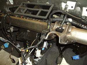 Vauxhall corsa with a bad water leak coming in through the ... on